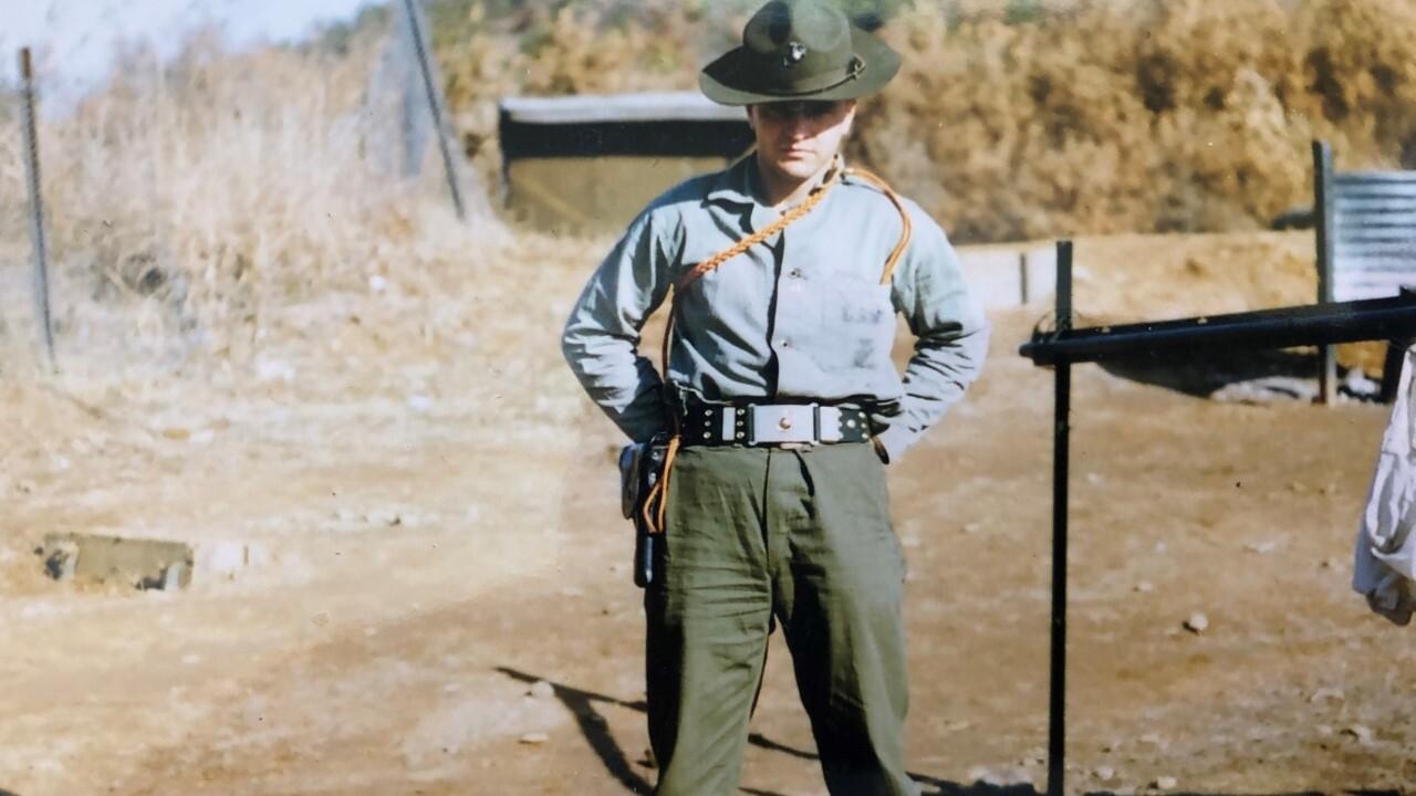 Jim Heffernan, United States Marine Corps, Korean War Veteran