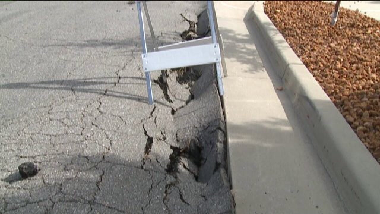 Pleasant View roadway infrastructure damaged after severe rainstorm