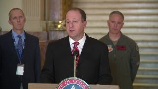 jared polis coronavirus march