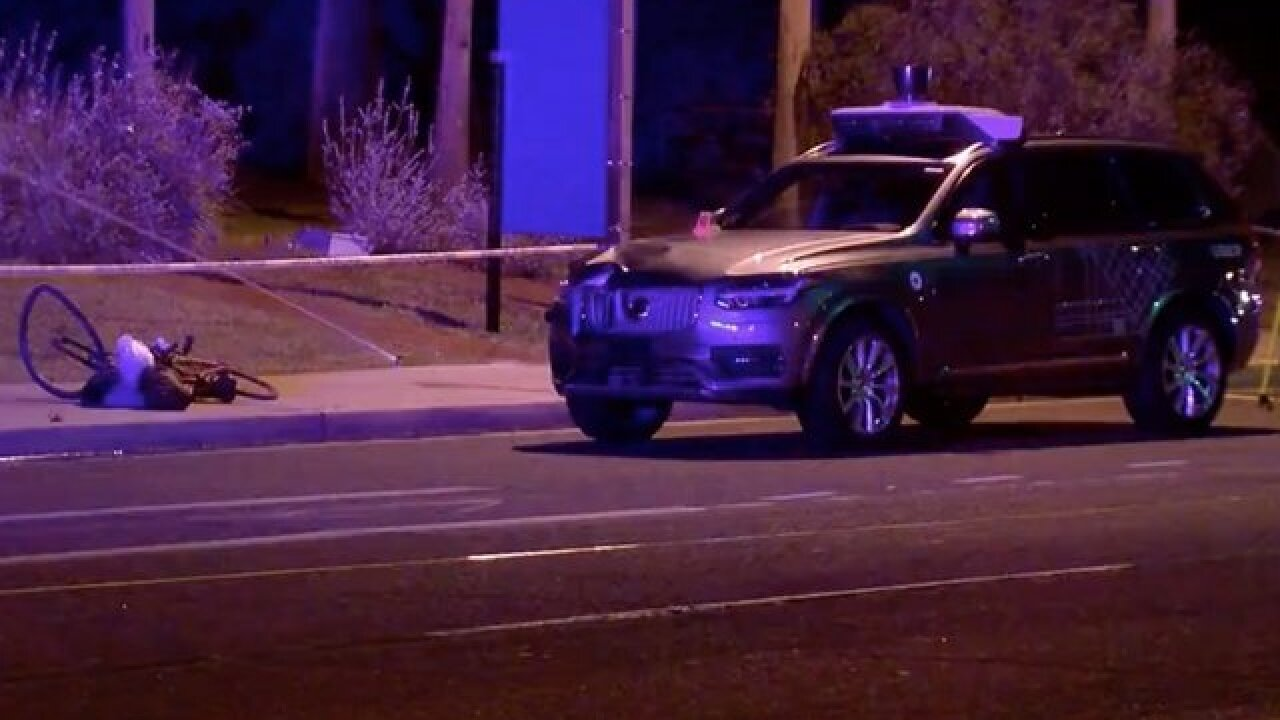 Tempe PD releases video from deadly Uber crash
