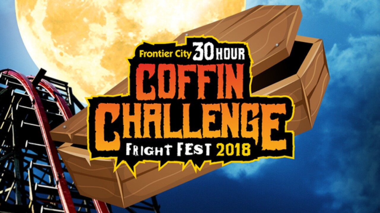 Frontier City to hold 30-hour 'coffin challenge'