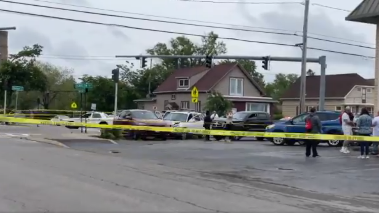 Buffalo police crash