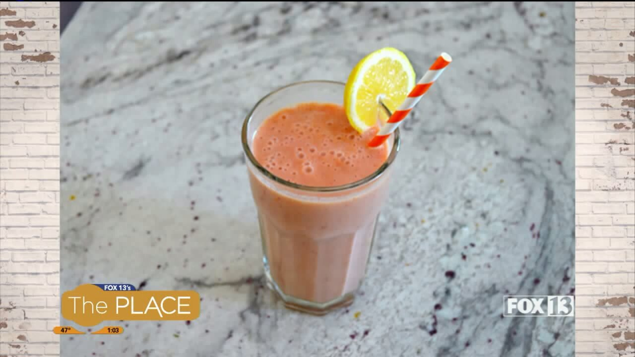 Recipe: Cold Buster Smoothie and Carrot Sesame Salad