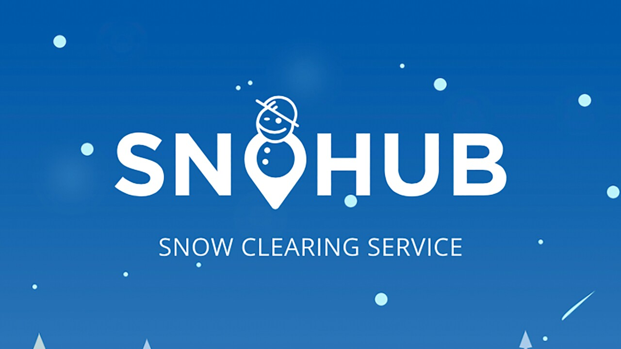 Don't want to shovel the snow on your sidewalk? There's an app for that