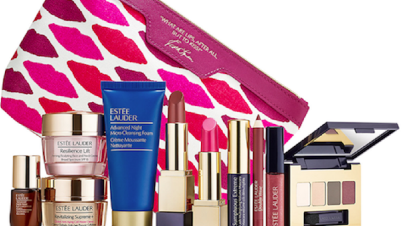 Free Estee Lauder gift set with $35 purchase