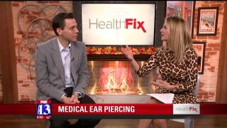 Medical ear piercing: a safer option in a medical setting