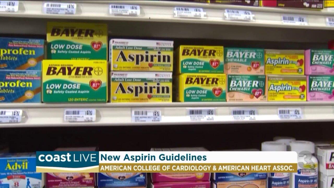 Making sense of new aspirin guidelines on CoastLive