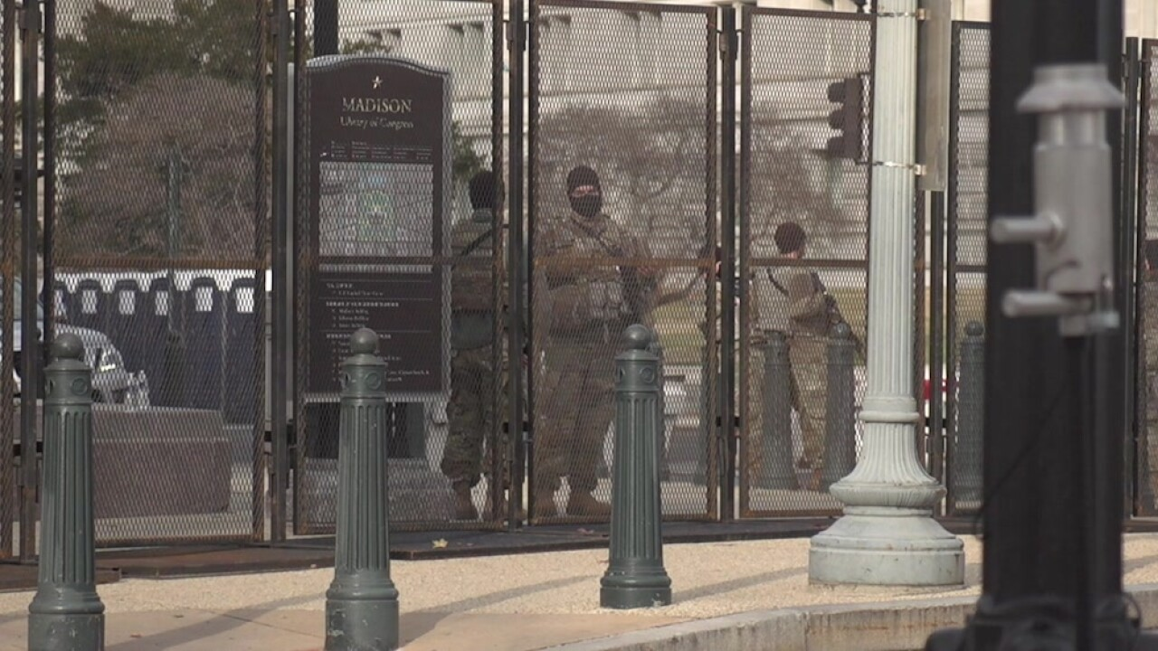 Capitol riots security