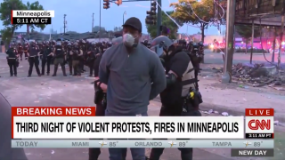 CNN reporter, crew arrested on live television in Minneapolis