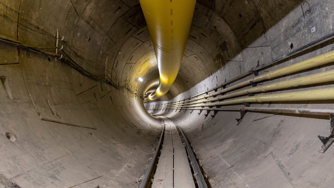 Boring Company tunnel tour