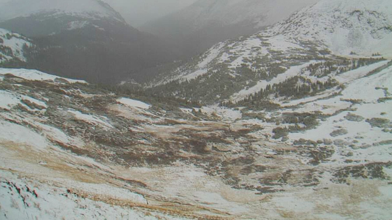 Several inches of snow possible in Colorado mountains Friday, with cooler temps across the state