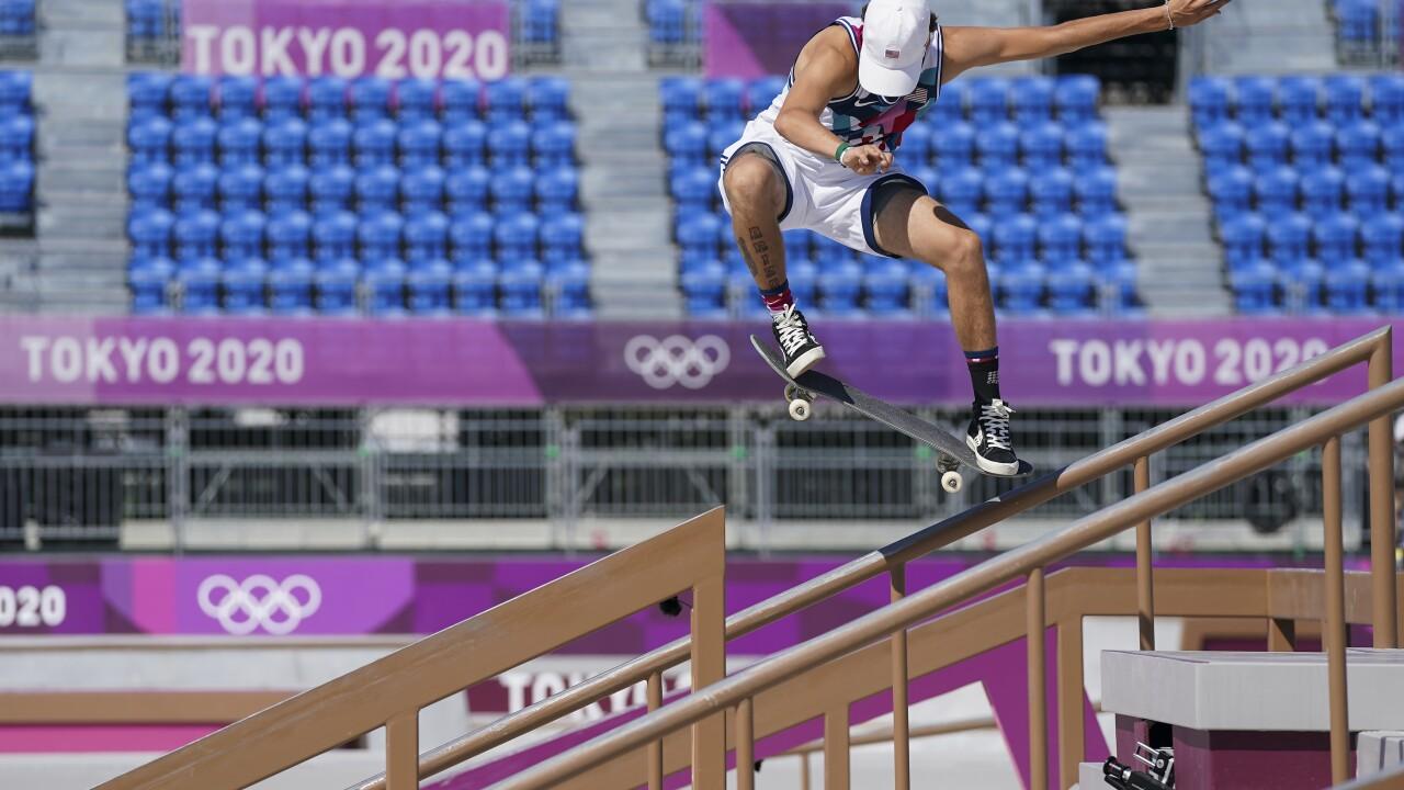Tokyo Olympics Skateboarding Jagger Eaton