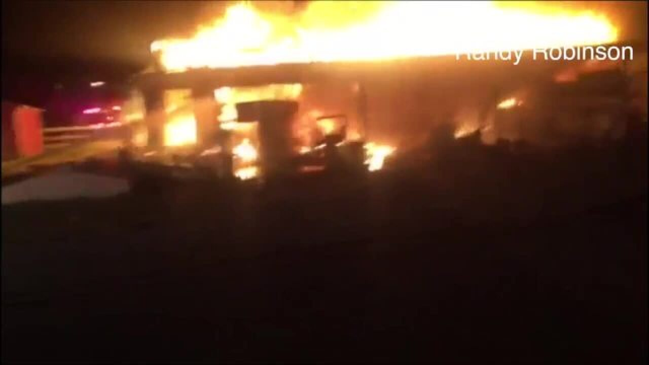 BA horse boarding facility destroyed by fire