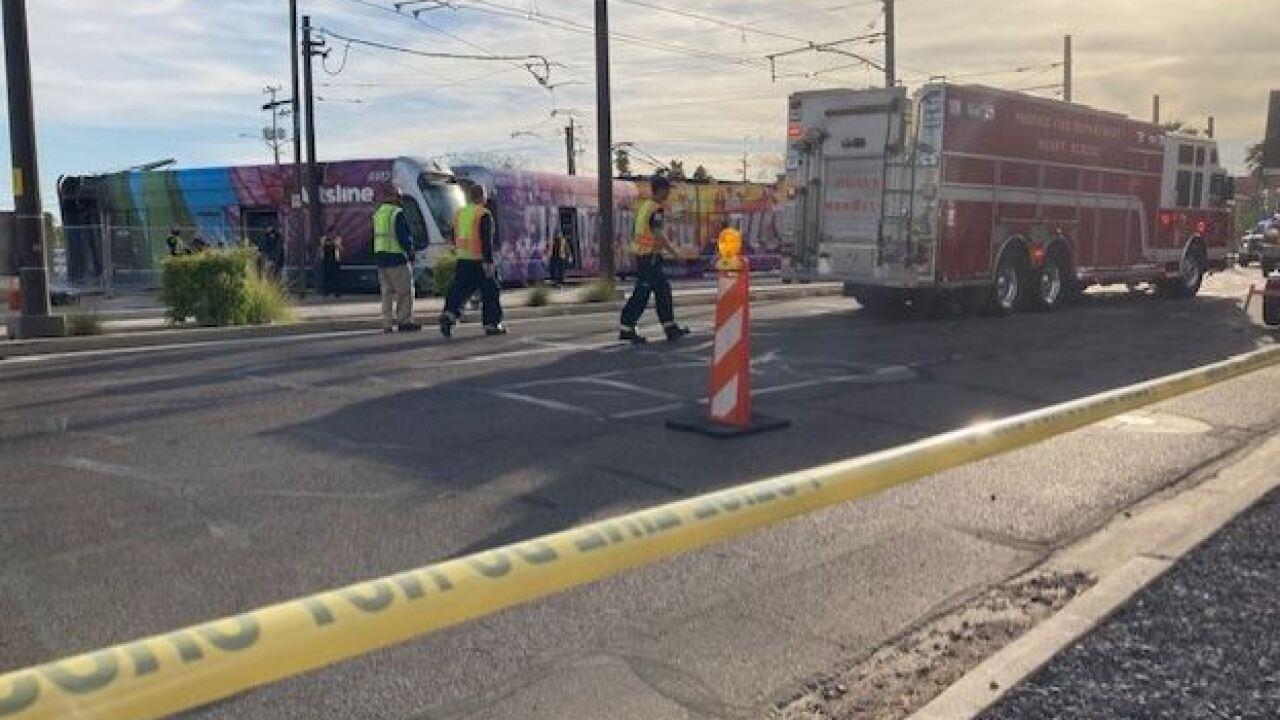 Light Rail Accident at 12th Street and Washington