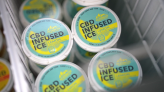 Popular family ice cream shop introduces CBD-infused Italian ice