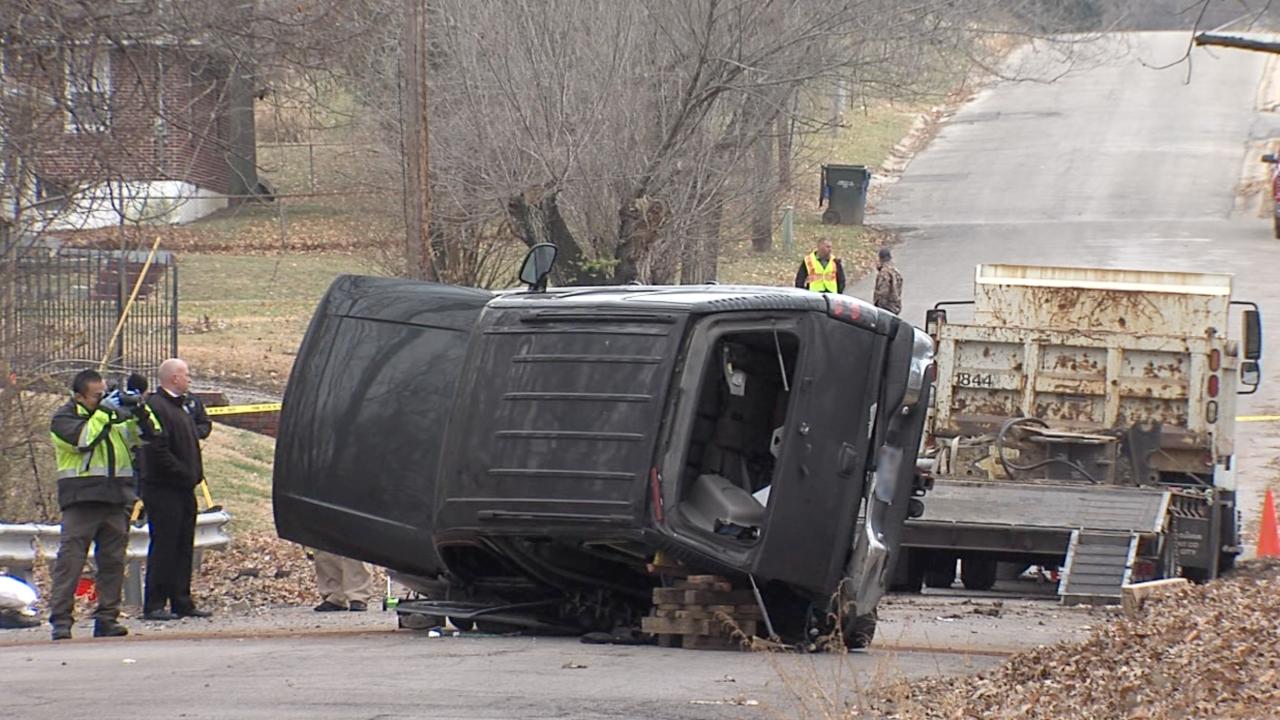 KCK fatal crash dump truck