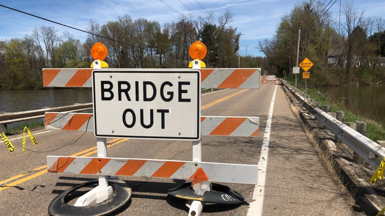 Cleveland-Massillon Road bridge closure