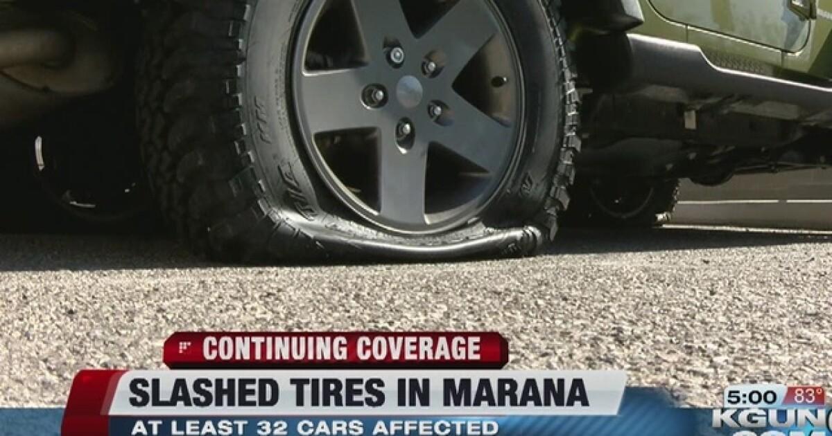 Police Investigating Rash Of Slashed Tires
