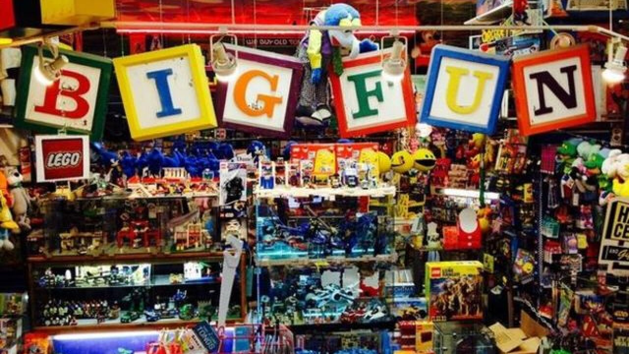 Where should you shop on Black Friday? USA Today recommends Big Fun toy store in Cleveland Heights