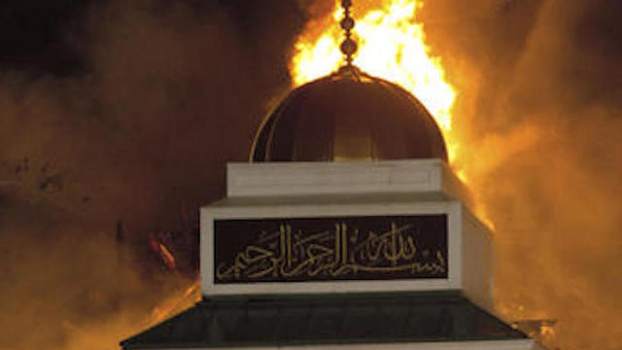 Texas mosque burns to the ground overnight; Cause of fire unknown