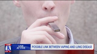 Health officials say five Utahns hospitalized with breathing problems all reported recentvaping