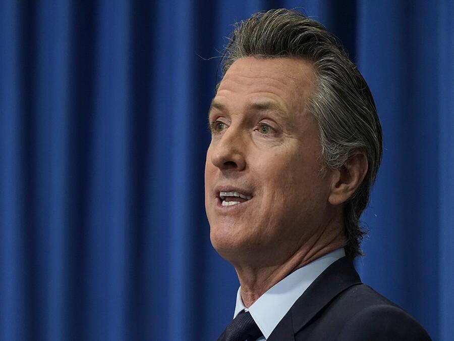 Gov. Gavin Newsom California budget 2021