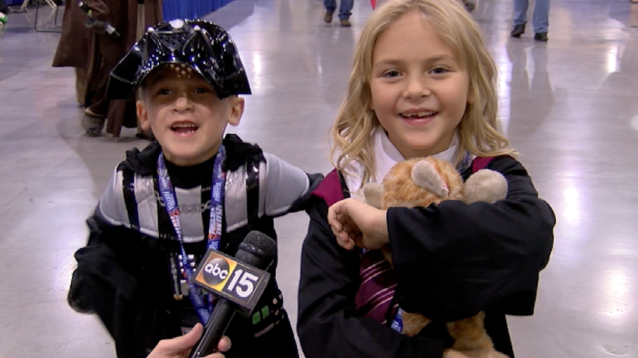 OOH! Cutest kid costumes at Phoenix Fan Fest