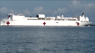 Taking 'comfort' in hospital ship's possibilities