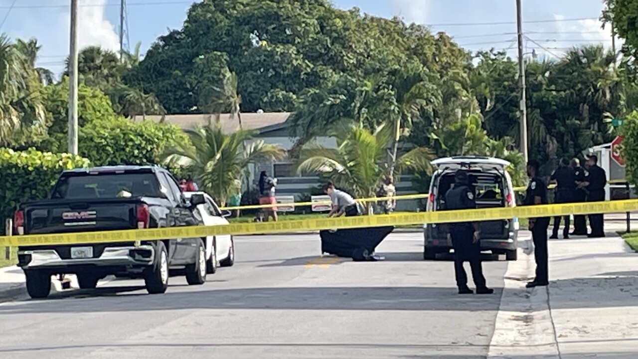 Riviera Beach police investigate after woman fatally shot, June 29, 2021
