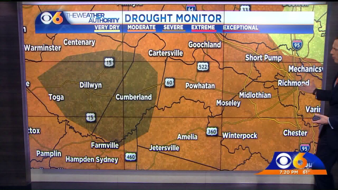 Drought conditions improving, but noteliminated