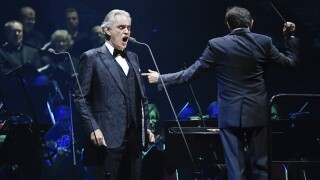 Andrea Bocelli to hold Easter concert from empty cathedral