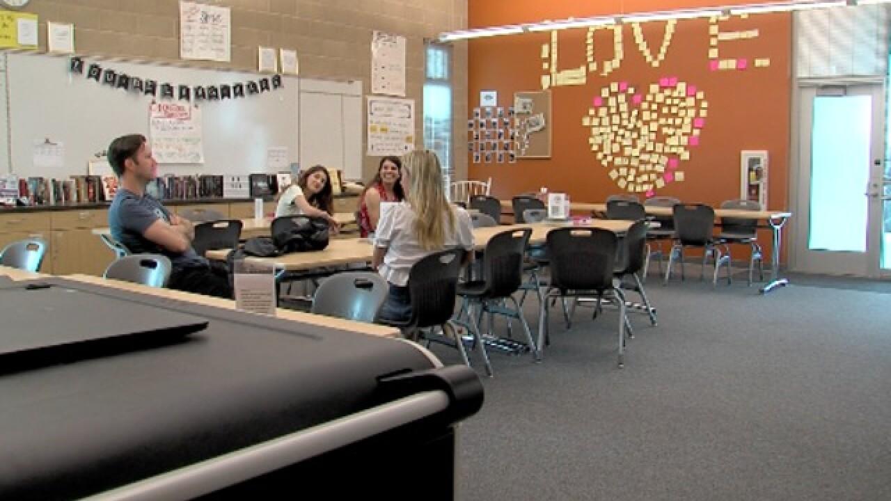 Project Gratitude: HS students show thanks