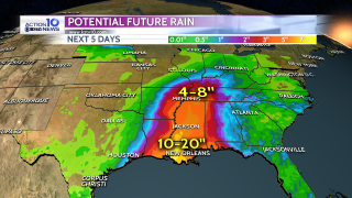 Rainfall potential