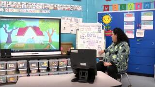 "CCISD teacher sending kids ""home"" happy, much to parents' appreciation"