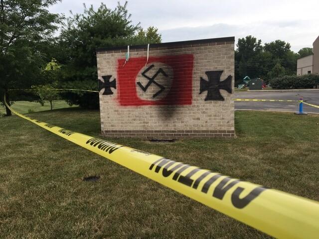 Anti-Semitic graffiti found on Carmel synagogue