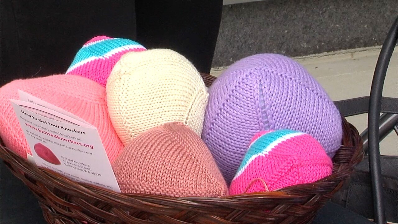 Knitted Knockers: Hospital volunteers in Ohio making life easier for breast cancer survivors