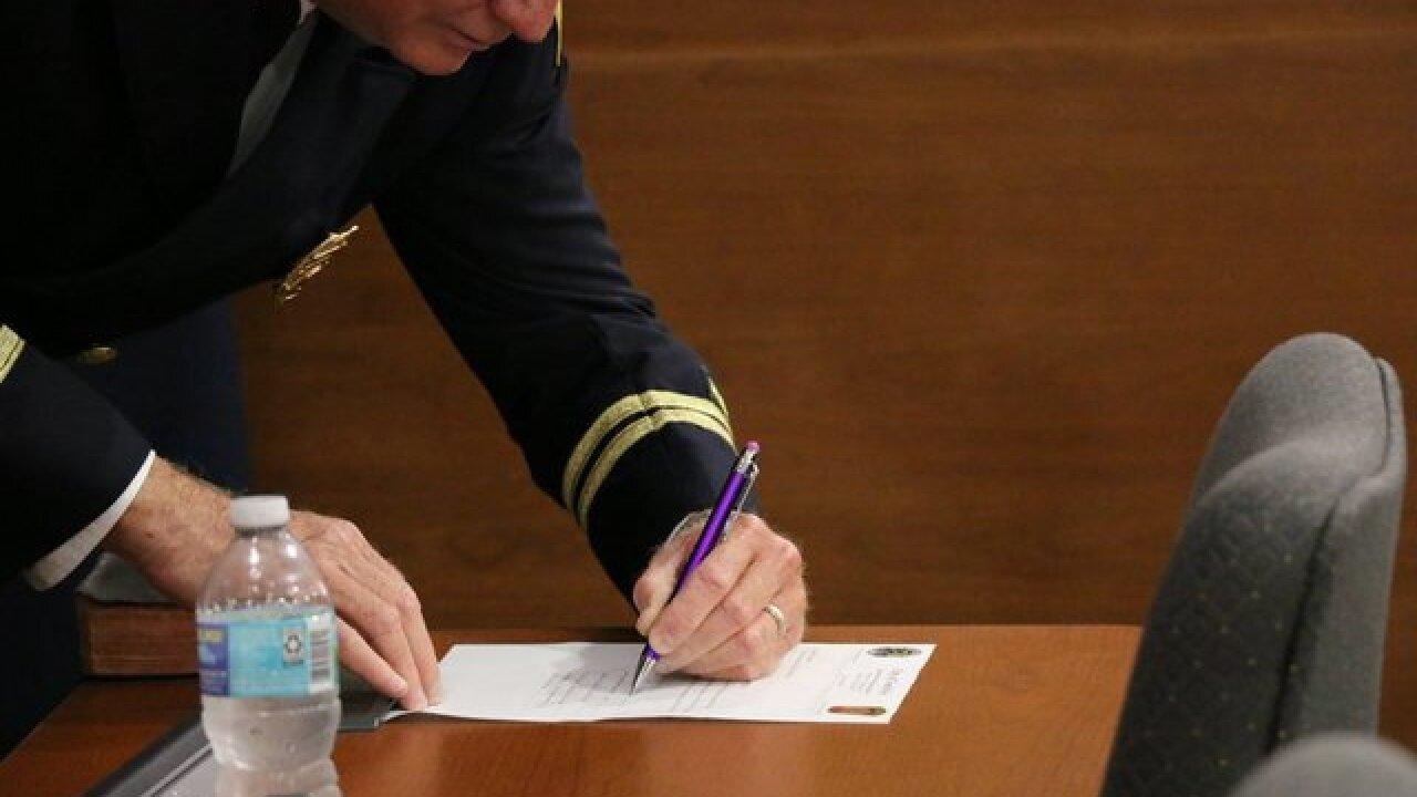 North Port Fire new Deputy Fire Chief sworn in