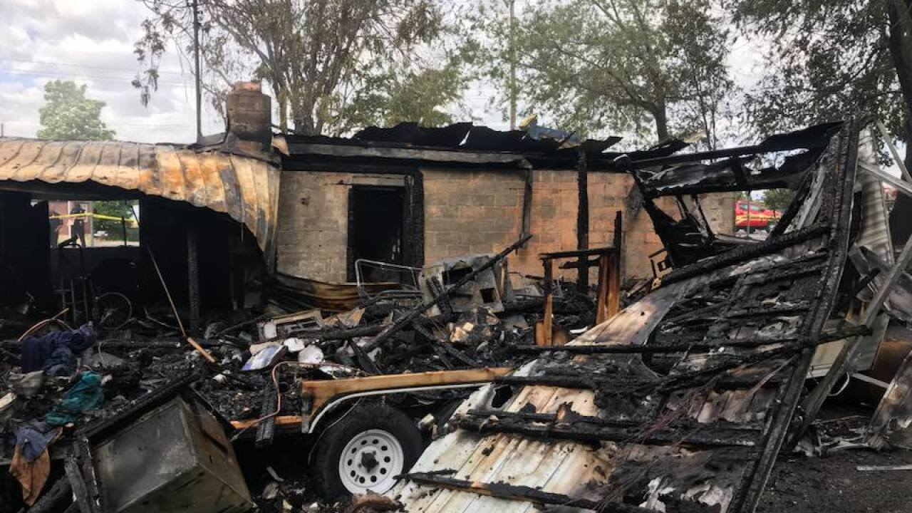 Two charged in deadly Provo house fire