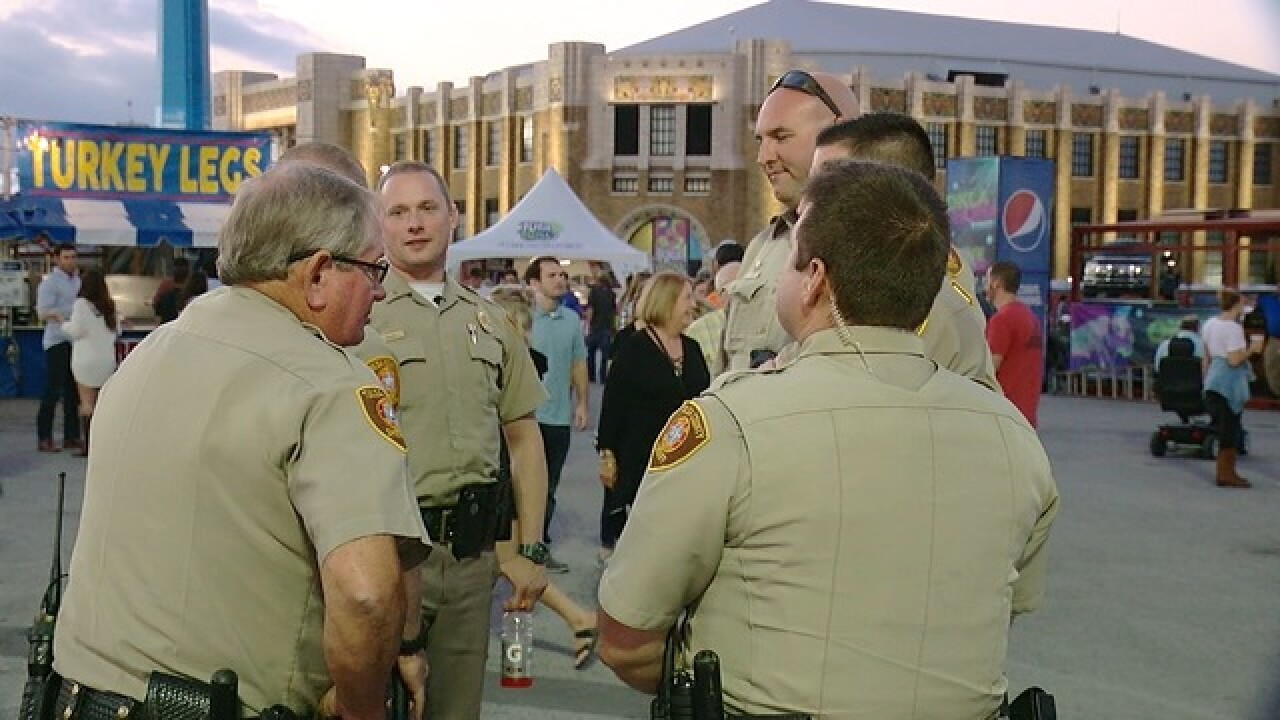 Deputies and police work to keep Tulsa Fair safe