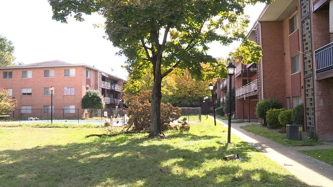 Tenants forced to move from 'ghost town' apartments onHalloween