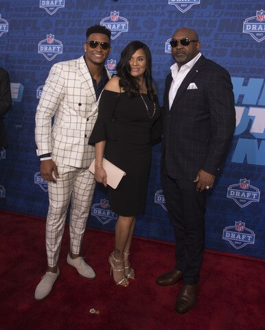 Who wore it best?: Bold fashions from the 2017 NFL Draft