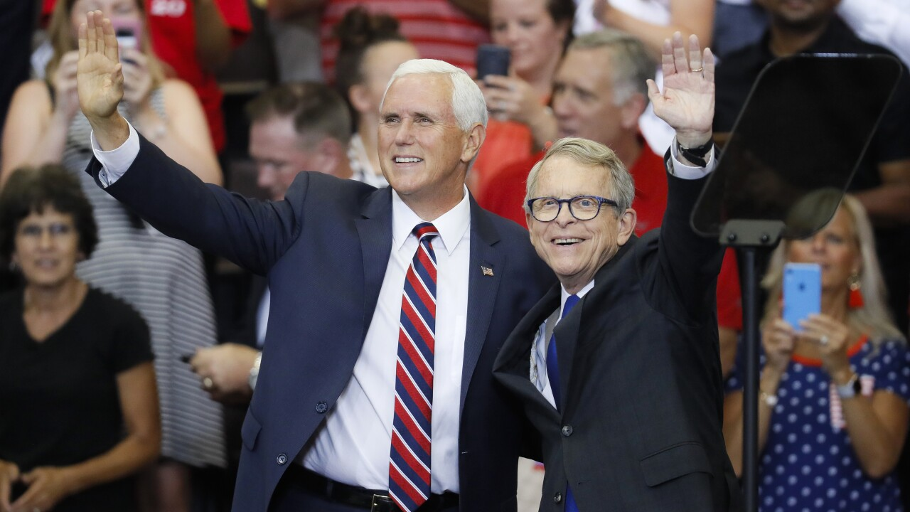Mike Pence, Mike DeWine