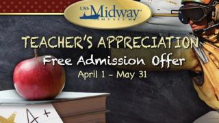 Teachers Appreciation USS Midway