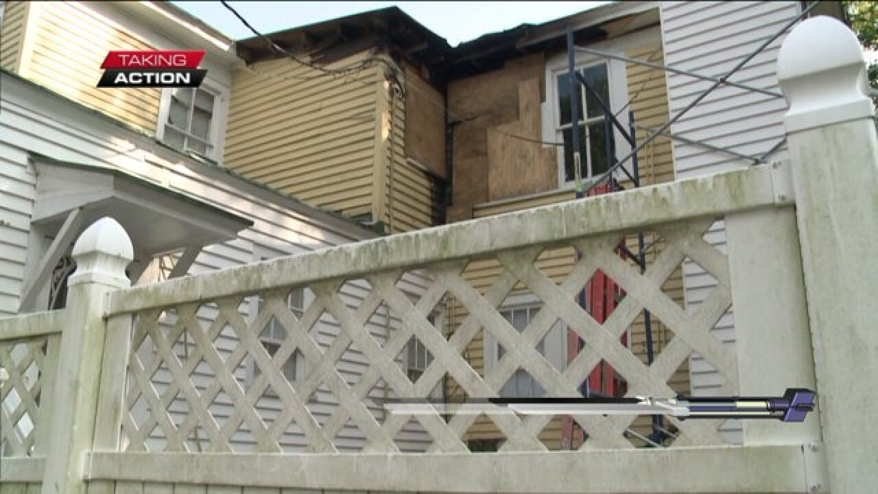 Families still unable to move home after fire allegedly caused by Charter Cableinstaller