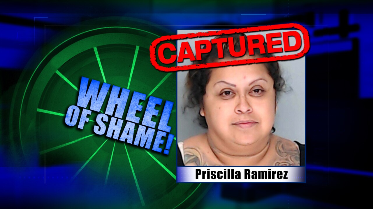 Wheel Of Shame Fugitive Arrested: Priscilla Ramirez