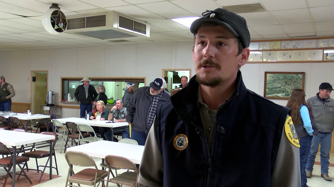 """Charles """"Chad"""" White, FWP Region 4 grizzly bear specialist"""
