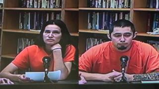 2 people accused of smuggling drugs into jail using postage stamps