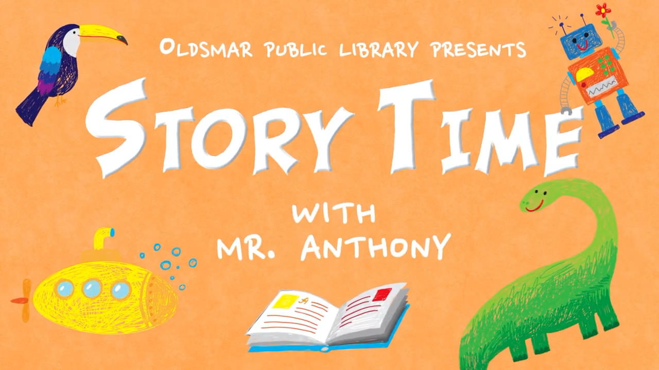 Story Time with Mr. Anthony