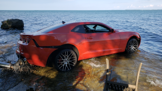 Arizona Cardinals WR Jermiah Braswell arrested in Put-in-Bay after crashing Camaro into Lake Erie