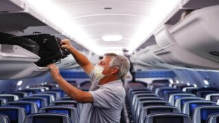 Harvard Study Finds Flying Can Be Safer Than Grocery Shopping Right Now